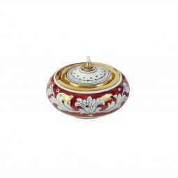 Copertina di 'Lucerna in ceramica a palla - 12 cm'