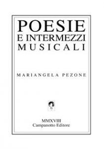 Copertina di 'Poesie e intermezzi musicali'
