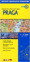 Praga 1:17 000. Ediz. multilingue