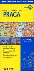 Copertina di 'Praga 1:17 000. Ediz. multilingue'