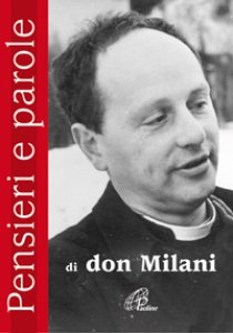 Copertina di 'Pensieri e parole di Don Lorenzo Milani'