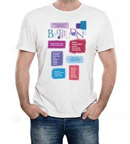 """Copertina di 'T-shirt """"Beatitudini evangeliche"""" - Taglia XL - UOMO'"""