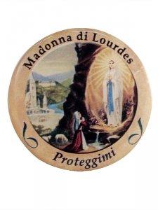 Copertina di 'Adesivo Madonna di Lourdes (10 pezzi)'