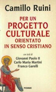 Copertina di 'Il progetto culturale della Chiesa in Italia'