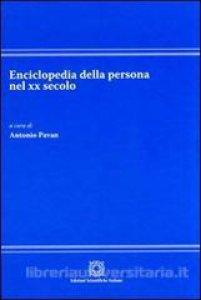 Copertina di 'Enciclopedia della persona nel XX secolo'