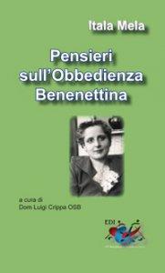 Copertina di 'Pensieri sull'Obbedienza Benedettina'