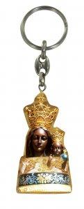 Copertina di 'Portachiavi Madonna di Loreto in ulivo con immagine serigrafata'
