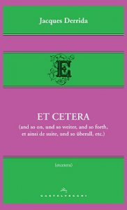 Copertina di 'Et cetera (and so on, und so weiter, and so forth, et ainsi de suite, und so überall, etc.).'