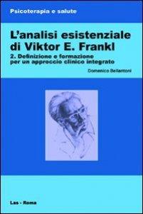 Copertina di 'L'analisi esistenziale di Viktor E. Frankl'