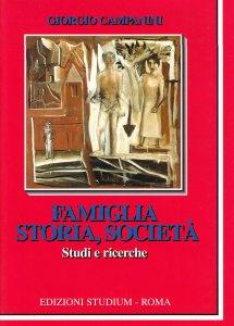 Copertina di 'Famiglia storia e società'