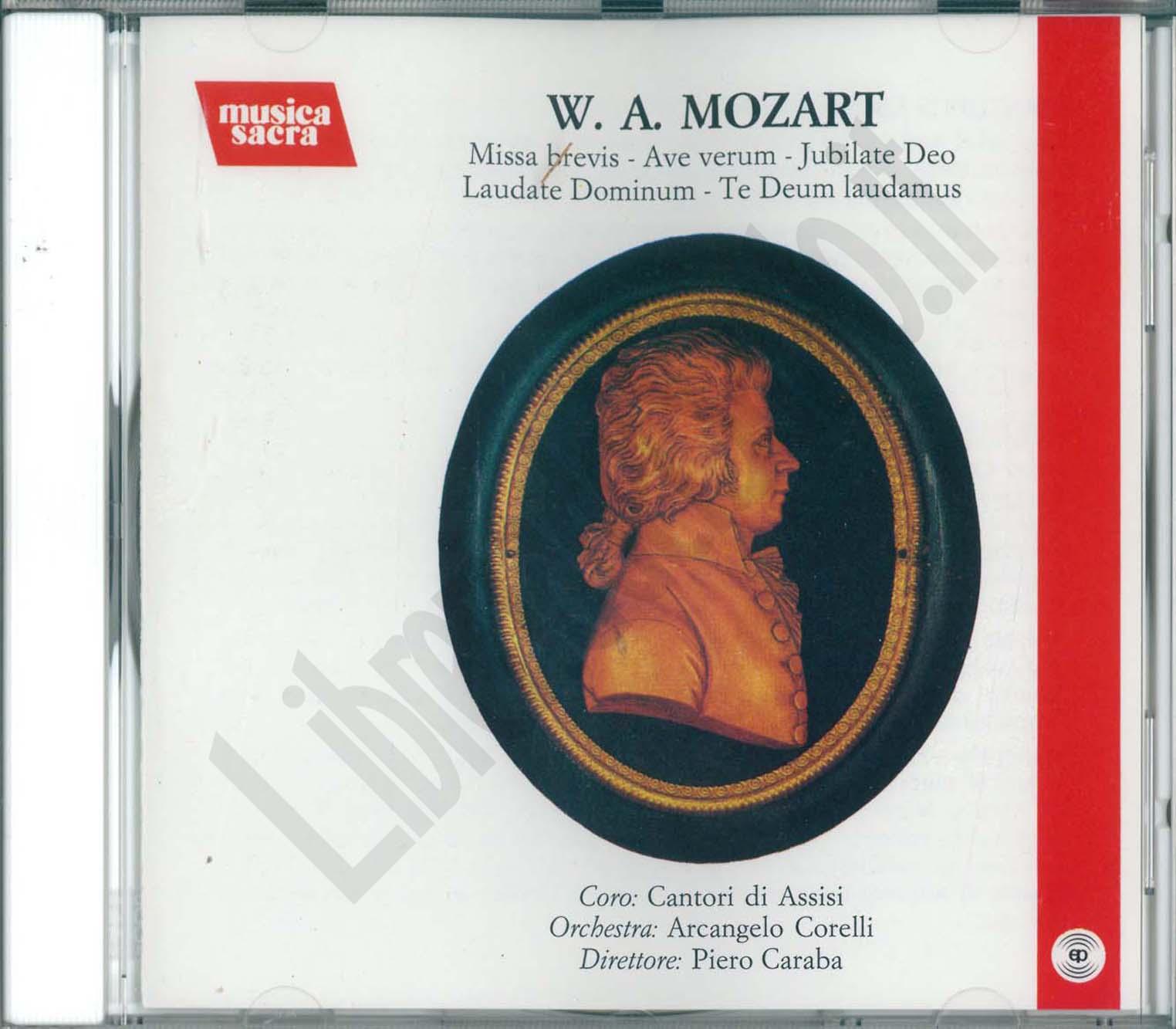W. A. Mozart, CD Musica classica - LibreriadelSanto.it