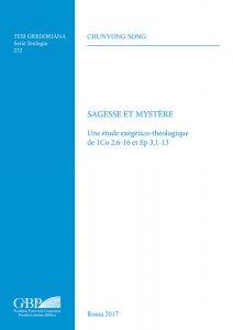 Copertina di 'Sagesse et mystere'