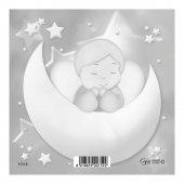 """Immagine di 'Mini puzzle """"Angioletto sulla luna"""" per bambini - 12 pezzi'"""