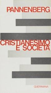 Copertina di 'Cristianesimo e società'