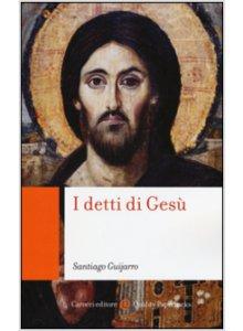 Copertina di 'I detti di Gesù'