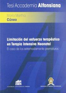 Copertina di 'Limitacìon del esfuerzo terapéutico en terapia intensiva neonatal'