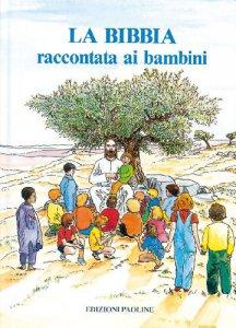 Copertina di 'La Bibbia raccontata ai bambini'