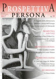 Copertina di 'Prospettiva persona. Trimestrale di cultura, etica e politica (2017)'