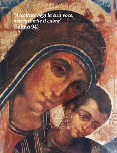 Copertina di 'Calendario liturgico dell'ascolto 2021. Icona di Kiko Arguello'