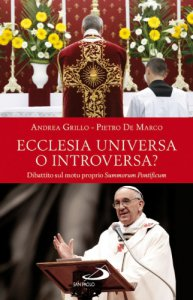 Copertina di 'Ecclesia universa o introversa?'