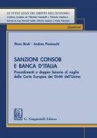 Sanzioni Consob e Banca d'Italia - Elena Bindi, Andrea Pisaneschi