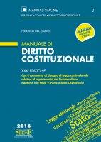 Manuale di Diritto Costituzionale - Federico del Giudice