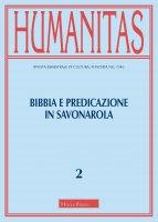 Humanitas. 2/2021: Bibbia e predicazione in Savonarola