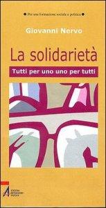 Copertina di 'La solidarietà'