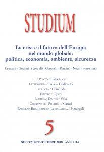Copertina di 'Studium (2018) Volume 5'