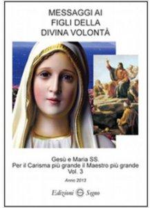 Copertina di 'Messaggi ai figli della Divina Volontà'