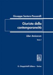 Copertina di 'Giuseppe Santoro Passarelli. Giurista della contemporaneità. Liber amicorum'