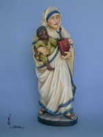Statua Madre Teresa di  su LibreriadelSanto.it