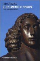 Il testamento di Spinoza - Strauss Leo