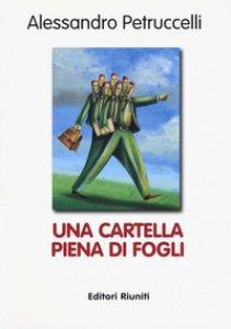 Copertina di 'Una cartella piena di fogli'