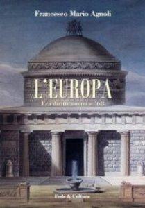Copertina di 'L' Europa fra diritti umani e '68'
