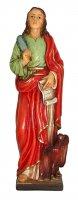 Statua di San Giovanni Evangelista da 12 cm in confezione regalo con segnalibro in IT/EN/ES/FR