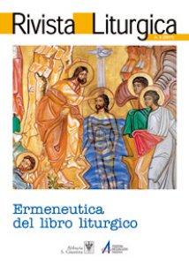 Copertina di 'Il libro liturgico: struttura e funzione'