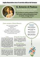 """Immagine di 'Rosario """"Vitamina dei Santi"""" per Sant Antonio - italiano'"""