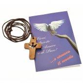 Immagine di 'Croce con colomba intagliata'