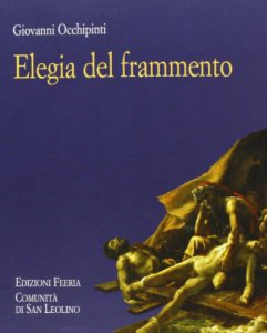 Copertina di 'Elegia del frammento.'