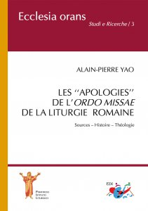 Copertina di 'Les ''apologies'' de l'Ordo Missae de la Liturgie Romaine'