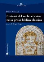 Sintassi del verbo ebraico nella prosa biblica classica - Alviero Niccacci