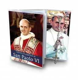 Copertina di 'Libretto di preghiere di papa San Paolo VI e rosario - italiano'