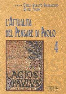 Copertina di 'L'attualità del pensare di Paolo'