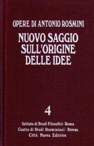Copertina di 'Nuovo saggio sull'origine delle idee [vol_4]'