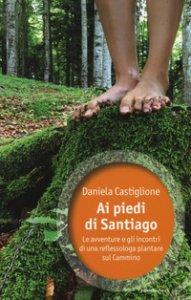 Copertina di 'Ai piedi di Santiago. Le avventure e gli incontri di una reflessologa plantare sul cammino'