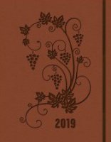 Agenda settimanale planning 2019 marrone