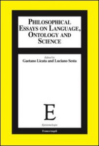 Copertina di 'Philosophical essays on language, ontology and science'