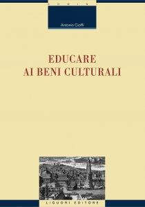 Copertina di 'Educare ai beni culturali'