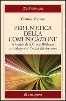 L'etica del discorso - Vonzun Cristina